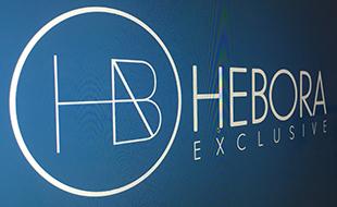 Logotipo Hebora.